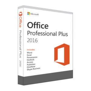 Microsoft Offices 2016 Professional Plus